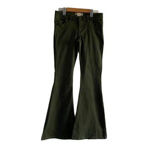 Flying Tomato Olive Green Flare Pants US Small